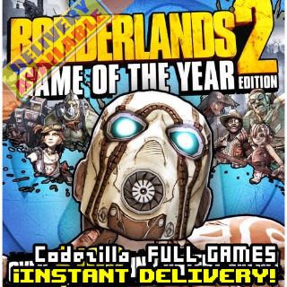 Borderlands 2 Game of the Year Steam Key GLOBAL