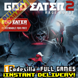 [𝐈𝐍𝐒𝐓𝐀𝐍𝐓] GOD EATER 2 Rage Burst_ Available/CDKey/Global