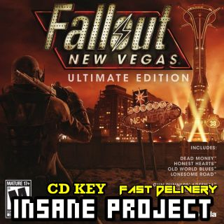 Fallout: New Vegas Ultimate Edition Steam Key GLOBAL