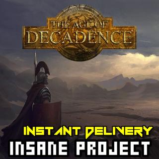 ⭐ɪɴ𝐬ᴛᴀɴᴛ!⭐ The Age of Decadence Steam CD Key