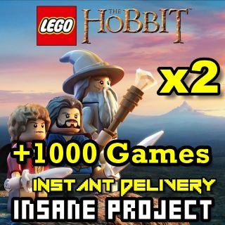 ⭐ɪɴ𝐬ᴛᴀɴᴛ!⭐ LEGO - The Hobbit 2PACK Steam CD Key