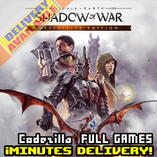 Middle-earth: Shadow of War Definitive Edition Steam Key GLOBAL