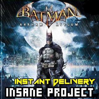 ⭐ɪɴ𝐬ᴛᴀɴᴛ!⭐ Batman: Arkham Asylum Game of the Year Edition Steam CD Key