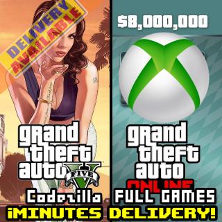 Grand Theft Auto Online: Megalodon Shark Cash Card XBOX ONE/XBOX LIVE GLOBAL 8 000 000 USD Key[GTA V][GTA 5]
