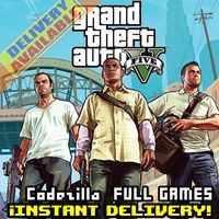 Grand Theft Auto V Rockstar Key[GTA V][GTA 5] GLOBAL