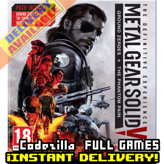 [𝐈𝐍𝐒𝐓𝐀𝐍𝐓] METAL GEAR SOLID V: The Definitive Experience - Available CD-Key Global