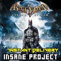 [𝐈𝐍𝐒𝐓𝐀𝐍𝐓] Batman: Arkham Asylum Game of the Year Edition Steam CD Key