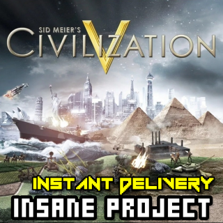 ⭐ɪɴ𝐬ᴛᴀɴᴛ!⭐ Sid Meier's Civilization V Steam CD Key