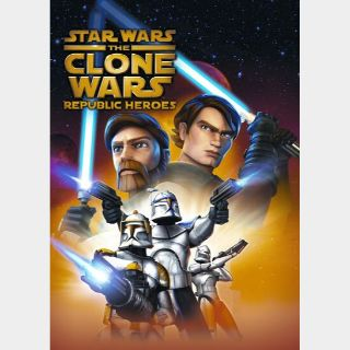 Star Wars: The Clone Wars - Republic Heroes Steam Key GLOBAL