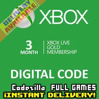 ⭐ɪɴ𝐬ᴛᴀɴᴛ!⭐ 3 Month Xbox Live Gold Key