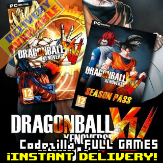 [𝐈𝐍𝐒𝐓𝐀𝐍𝐓] DRAGON BALL XENOVERSE Bundle Edition _ Available/CDKey/Global