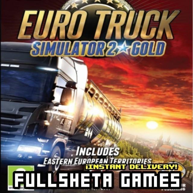 Euro Truck Simulator 2 Gold Edition (PC/Steam) instant delivery