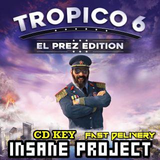 Tropico 6 - El Prez Edition Steam Key GLOBAL