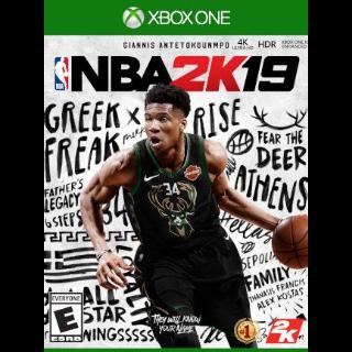 NBA 2K19 XBOX LIVE Key XBOX ONE GLOBAL