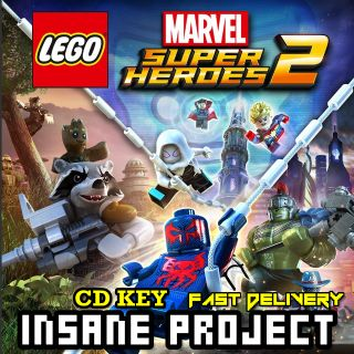 Lego Marvel Super Heroes 2 - Deluxe Edition Steam Key GLOBAL