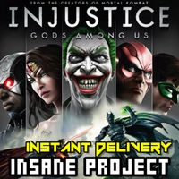 ⭐ɪɴ𝐬ᴛᴀɴᴛ!⭐ Injustice: Gods Among Us - Ultimate Edition Steam CD Key