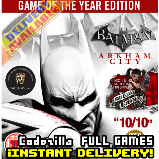 Batman: Arkham City - Game of the Year Edition Steam Key GLOBAL