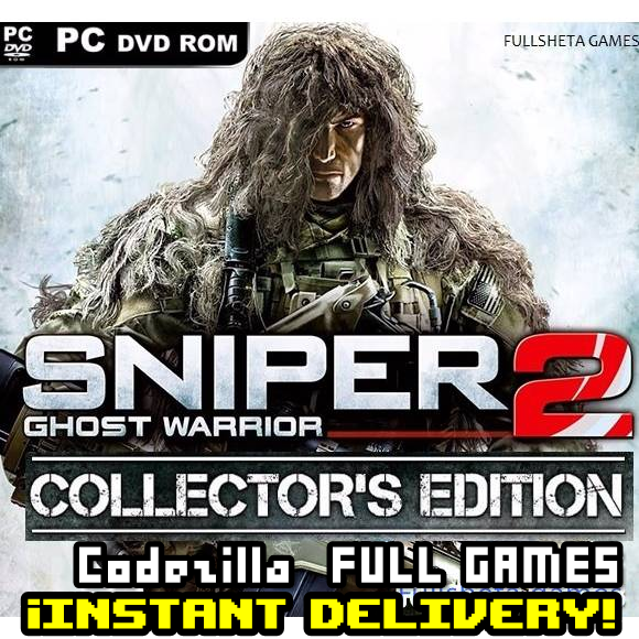 [𝐈𝐍𝐒𝐓𝐀𝐍𝐓] Sniper: Ghost Warrior 2 - Collector's Edition