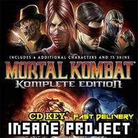 Mortal Kombat Komplete Edition Steam Key GLOBAL