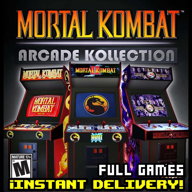 Mortal Kombat Arcade Kollection - instant delivery - Steam key
