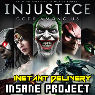 ⭐ɪɴ𝐬ᴛᴀɴᴛ!⭐ Injustice: Gods Among Us - Ultimate Edition Steam CD Key