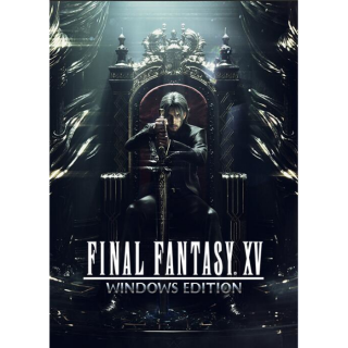 FINAL FANTASY XV WINDOWS EDITION Steam Key GLOBAL