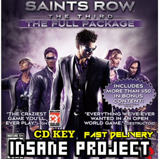 Saints Row: The Third - Full Package