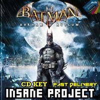 Batman: Arkham Asylum Game of the Year Edition Steam CD Key