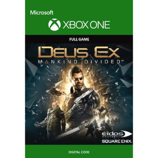 Deus Ex: Mankind Divided and Assassin's Creed Unity Xbox One - Digital Code - Instant Delivery