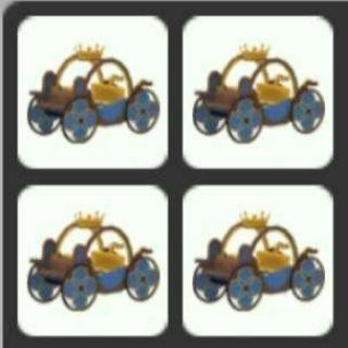 Pet   4x Prince Carriage