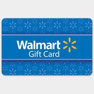 $45.00 Walmart Gift Card US