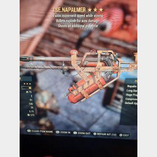 Fallout 76 ps4 TSE FLAMER