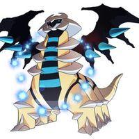 Shiny Giratina Pokémon Sword and Shield