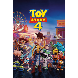 Toy Story 4 HDX VUDU or iTunes via MA