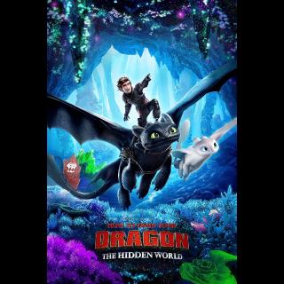 How To Train Your Dragon The Hidden World HDX VUDU or iTunes via MA