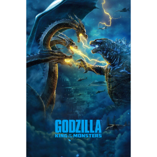 Godzilla King Of The Monsters HDX VUDU or HD iTunes via MA