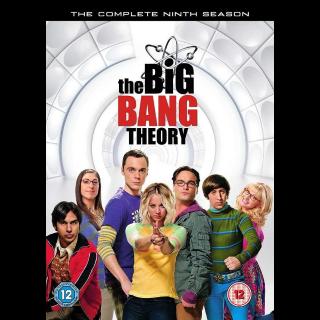 THE BIG BANG THEORY SEASON 9 ITUNES HD