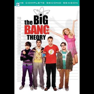 THE BIG BANG THEORY SEASON 2 ITUNES HD