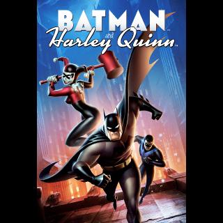 Batman And Harley Quinn HDX VUDU or iTunes via MA