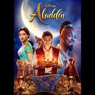 Aladdin (2019) HD Google Play (Redeems at Google Play Transfers to VUDU & iTunes via Movies Anywhere)