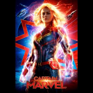 Captain Marvel 4K UHD VUDU or MA