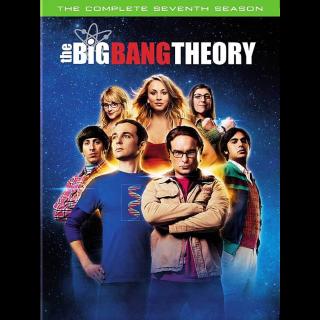 THE BIG BANG THEORY SEASON 7 ITUNES HD