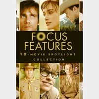 Focus Features 10-Movie Spotlight Collection MA VUDU HD iTunes HD