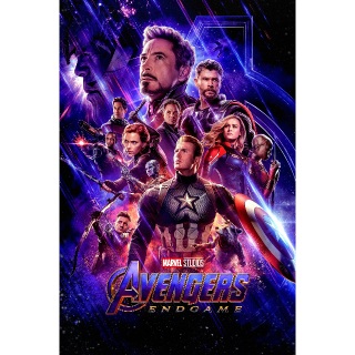 Avengers Endgame HD Google Play (Redeems at Google Play Transfers to VUDU & iTunes via Movies Anywhere)