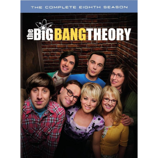THE BIG BANG THEORY SEASON 8 ITUNES HD