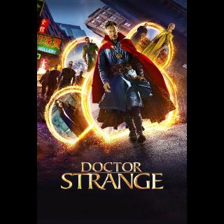 Doctor Strange HDX Vudu, MA, iTunes, or Google Play