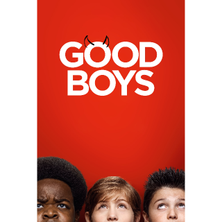 Good Boys HDX VUDU or iTunes via MA