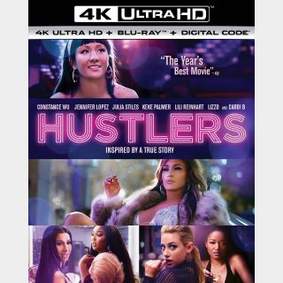 Hustlers 4K Canadian iTunes ONLY [ FLASH DELIVERY ⚡ ]