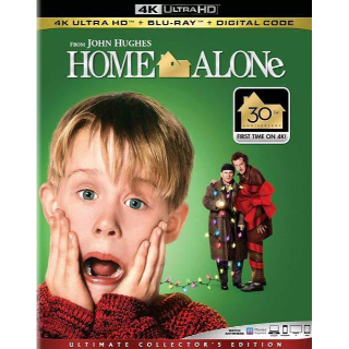 Home Alone 4K iTunes [ FLASH DELIVERY ⚡ ]