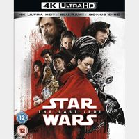 Star Wars: The Last Jedi 4K iTunes [ FLASH DELIVERY ⚡ ] [ports to MA]